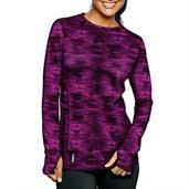 Duofold by Champion Brushed Back Women's Crew (Prints)