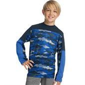 Hanes Sport Boys' Long Sleeve Pieced Tech Tee