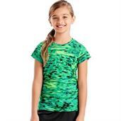 Hanes Sport Girls' Speed Dash Performance Tee