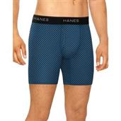 Hanes Men's Stretch Boxer Briefs With Comfort Flex Waistband 4-Pack