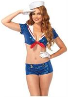 3 PC. Sequin Sailor