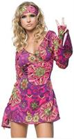 2 PC. Hippie Girl bell sleeved dress
