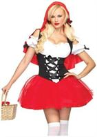Racy Red Riding Hood dress