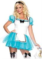 2 PC. Enchanted Alice Costume