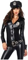 4 PC. Officer Payne catsuit