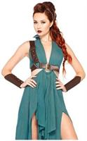 4 PC. Warrior Maiden dress