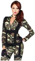 2 PC. Pretty Paratrooper jumpsuit