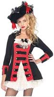 Pretty Pirate Captain, features waistcoat dress