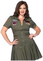 2 PC. Top Gun Flight Dress