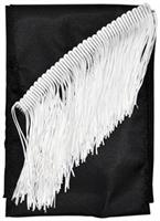 Sash Fringed Black