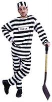 Convict Male Costume