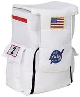 White Astronaut Back Pack Costume Accessory
