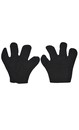 Black Mouse Mittens Costume Accessory