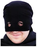 Bandit Head Scarf Black Mask