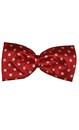 Polka dot Red Jumbo Bow Tie
