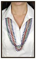 12 strands Beads For Mardi Gras