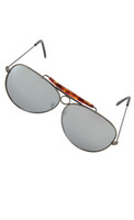 Glasses Aviator Gunmetal Mirro