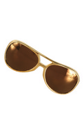 Glasses Rock Roller Gold Gold