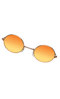 Glasses John Gold Orange Yello