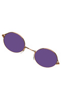 Glasses John Gold Purple