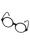 Glasses Professor Blk Clr