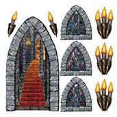 Stairway Window Torch Props