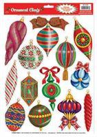 Christmas Ornament Clings