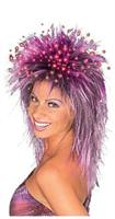 Purple Fiber Optic Wig