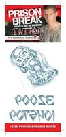 Prison Break Poison Bolshoi Bz Temporary Tattoo