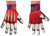 Optimus Prime Red Gloves Adult