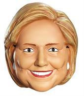 Hillary Clinton 1/2 Mask