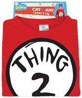Dr Seuss Thing 2 T-Shirt With Wig