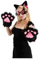 Kitty Paws Black Accessory kit