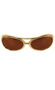 Glasses Rock And Roller Gold Brown