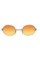 Glasses John Gold Orange Yellow