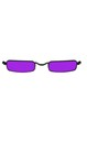 Black Purple Vampire Glasses