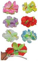 Hibiscus Large Hair Clip Asst Color