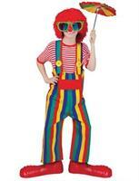 Striped Clown Overalls Ch