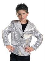 Disco Jacket Silver Child