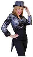Glitter Tailcoat Silver