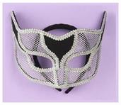 Ven Mask Netted Silver