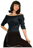 Sock Hop Top Black