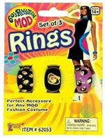 Mod Rings Set Of 3