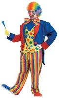 Plus Size Clown Costume 3X Large 52-58