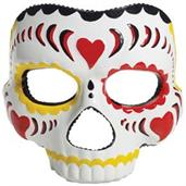 Day Of The Dead Female Mask