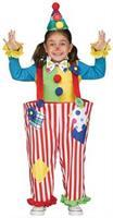 Crazy Clown Toddler Xl 4-6