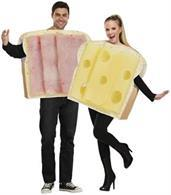 Ham And Swiss Adult Couple