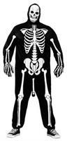 Skeleboner Adult Costume Plus
