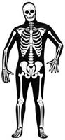 Skin Suit Skeleton Adult Std