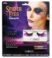 Spider Eye Lashes Makeup Kit